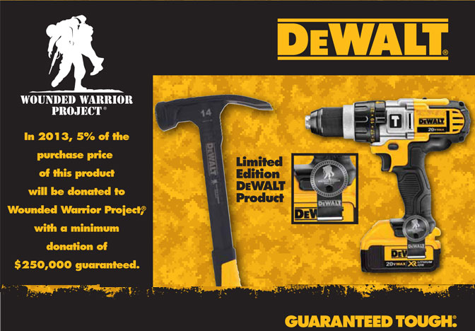 DeWalt Wounded Warrior Image